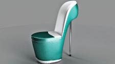 Кресло туфелька