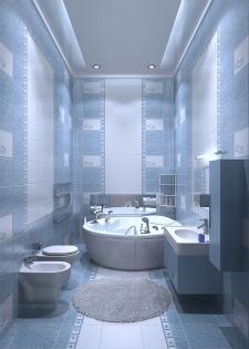 ванная3 (программа: 3D Max)