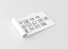 Иконки на тему видео-наблюдения