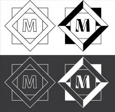 Логотип для компании с абривиатурой