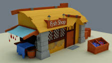 Fish Shop - GAME ASSET PACK