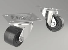 Моделирование мебельного колеса