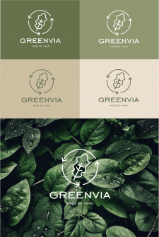 Лого для экологического стартапа