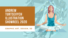 Andrew Turtsevych Illustration Showreel 2020