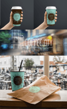стаканчик для Coffee City