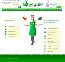 Создание интернет-магазина «Кормушка»