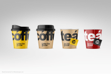 Paper Coffee\Tea Cup Mockup