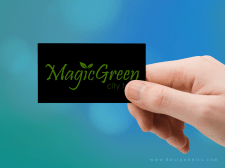 Візитка з логотипом