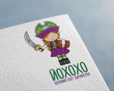 Логотип для магазина детских товаров ЙОХОХО