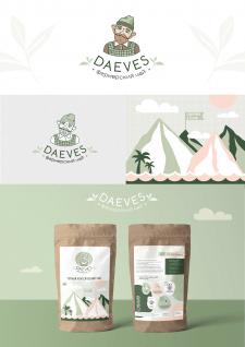 Логотип и упаковка для фермерского чая