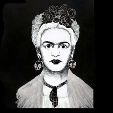 Фрида портрет готический