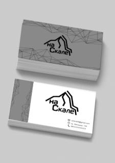 Дизайн визитки и логотипа