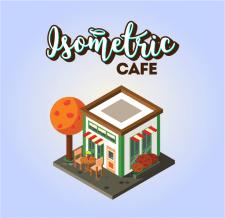 Изометрическое кафе