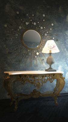 Table and vase, 3d modeling, render