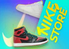 Рекламный баннер для магазина обуви