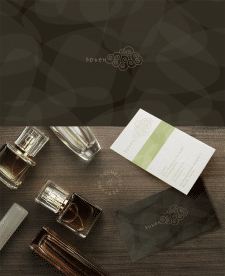 Визитки магазина парфюмерии