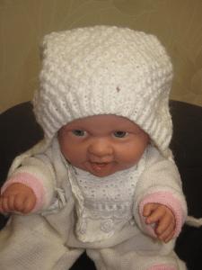 Шапочка-чепчик для младенца