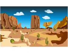 Пустеля 2D environment