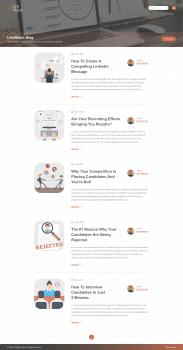 Редизайн блога для LinkMatch