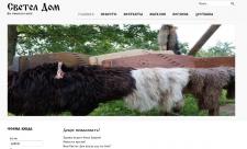 Интернет магазин в славянской стилизации