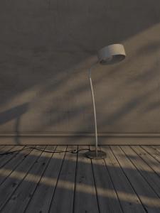 3D модель в сцене