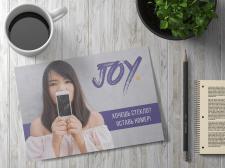 """Реклама """"JOY"""" - магазин мобильной связи"""