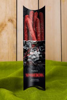 Дизайн упаковки для колбасы