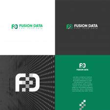 """лого для """"fusion data"""""""