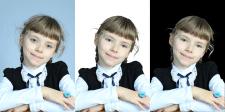 Очищення фону (вырезка) и ретуш