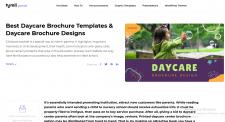 Daycare Brochure Templates. Daycare Brochure