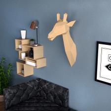 Paper craft giraffe
