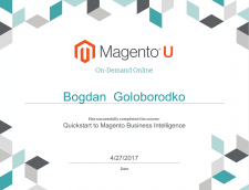 Quickstart to Magento Business Intelligence