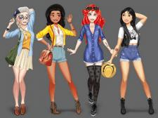 Персонажи для игры-одевалки