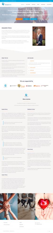 Австралийский сайт оказания помощи - Bluebird