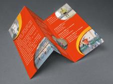Двухсторонняя брошюра