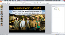 Презентация MS PowerPoint