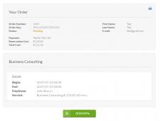 Оплата LiqPay для модуля Vik Appointme Joomla