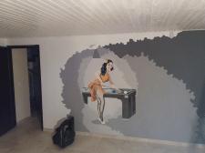 Роспись интерьера в частном доме