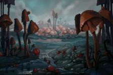 Mushrooms planet