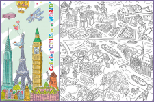 """Создание раскраски """"Cities of the World"""""""