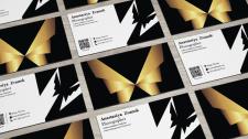 Создание визитной карточки для фотографа