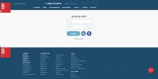 Разработка дизайна для страницы авторизации