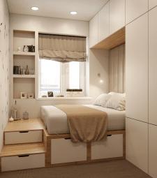 Дизайн спальни / 3д визуализация