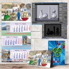 Календарный комплект для компании ТОР