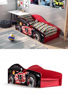 """3D-моделирвание и визуализация мебели """"Машинка"""""""