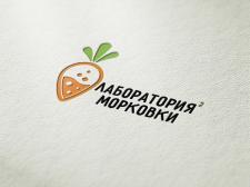 """Лого """"Лаборатория морковки"""""""