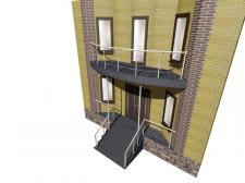 ограждение терраса и балкон
