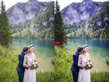 Цвето-коррекция/минимальная ретушь фото