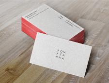 Разработка дизайна визитных карточек