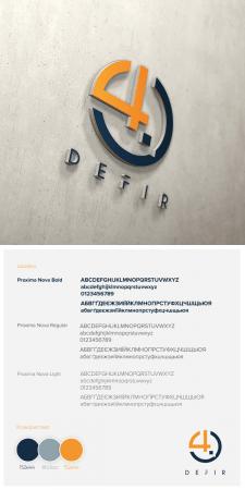 Логотип Defir 4.0